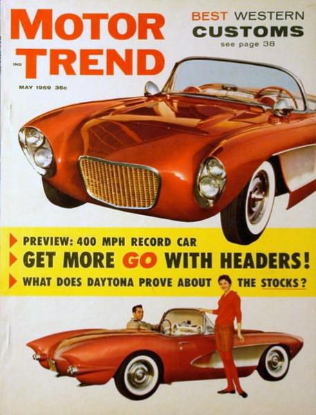 Motor Trend 1959 May