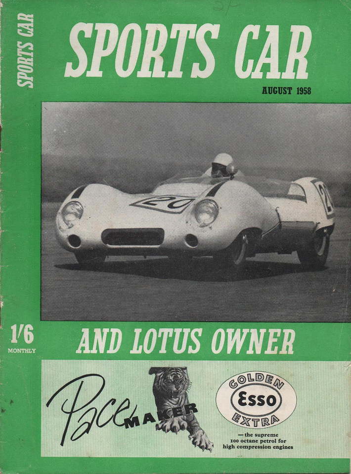 Sports Car and Lotus Owner 1958 August