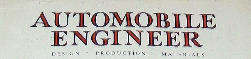 Automobile Engineer 1960 July 1