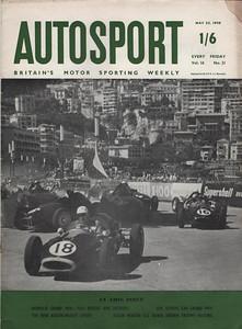 Autosport 1958 1 May