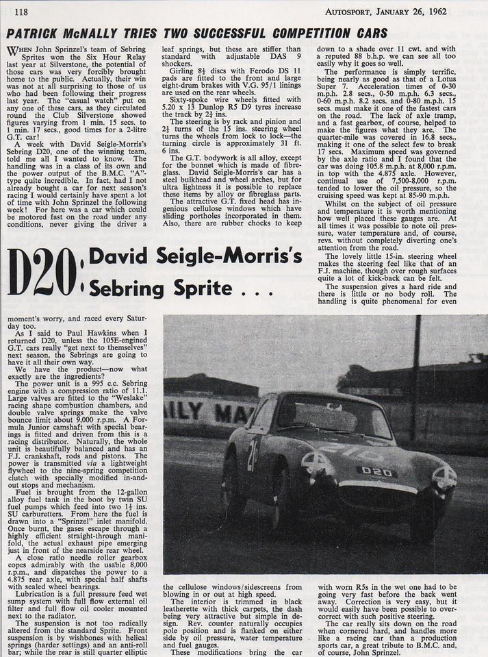 Autosport 1962 Jan 26th 2
