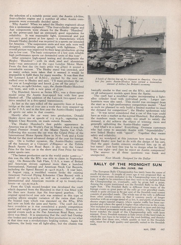 Cars Illustrated 1960 May 4