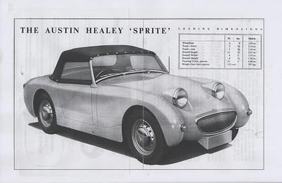 Austin Motor Company Sprite pre launch (3)