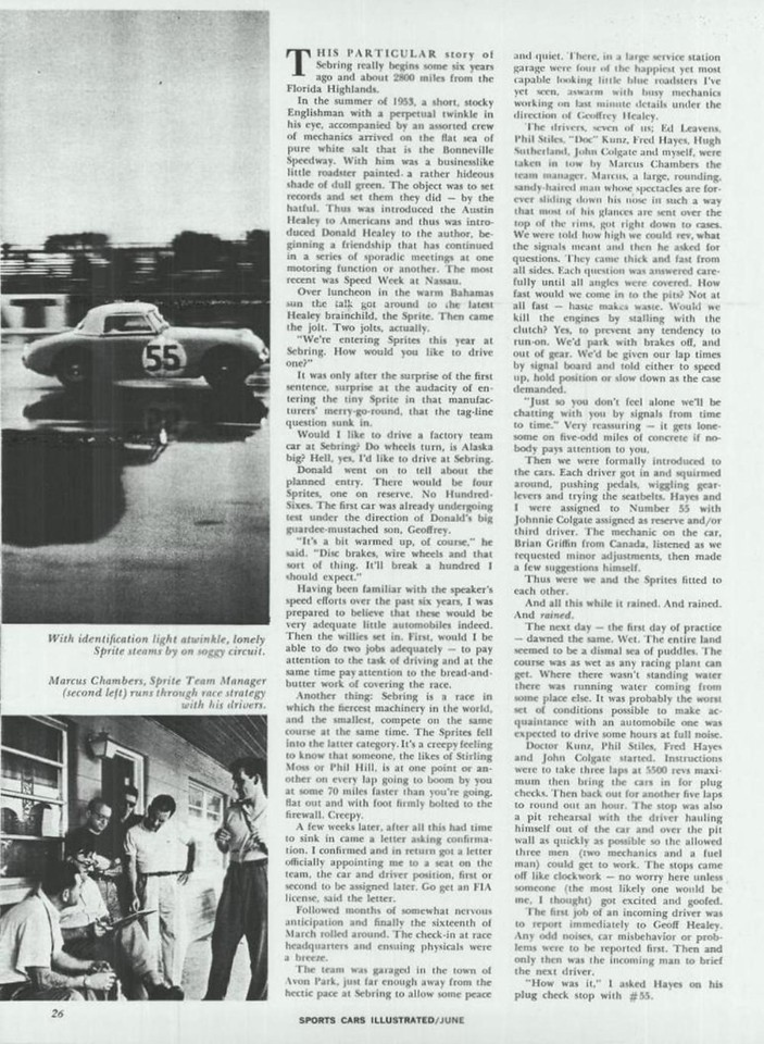 Sports Car Illustrated USA 1959 June 2