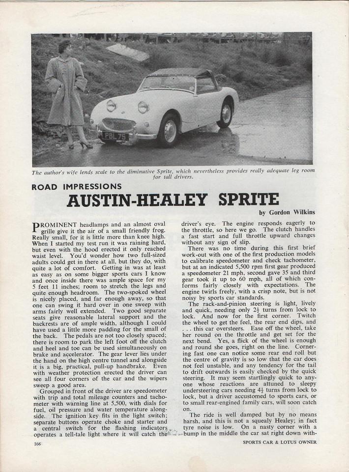 Sports Car and Lotus Owner 1958 June 1