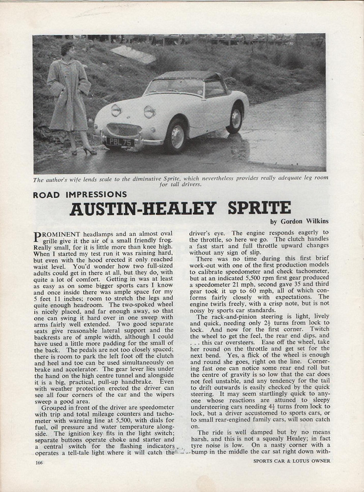 Sports Car and Lotus Owner 1958 June 1