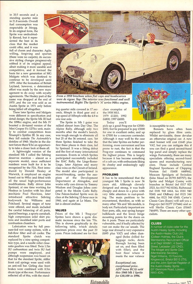 The Automobile September 1997 2
