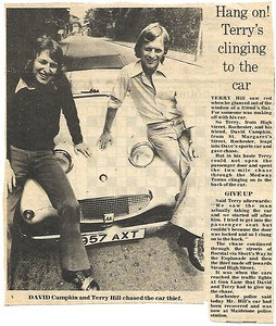 957AXT Newspaper cutting