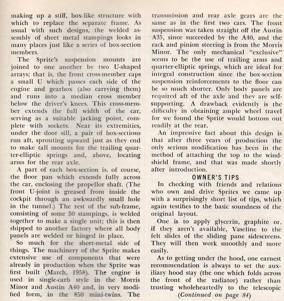 Sports Cars Illustarted's Car and Driver USA 1961 April 12