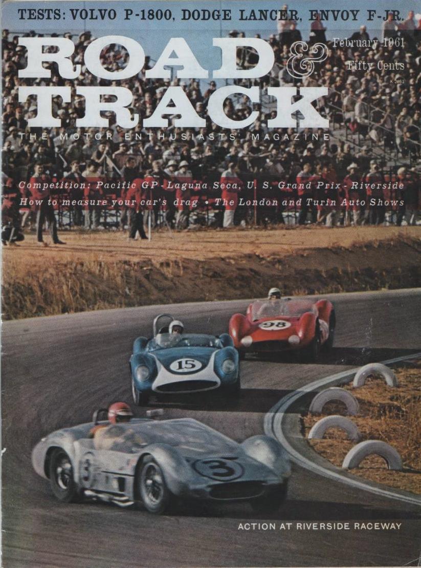 Road & Track 1961 February
