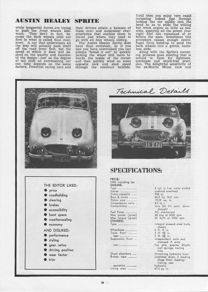Sports Car World (Australia) 1960 June 6
