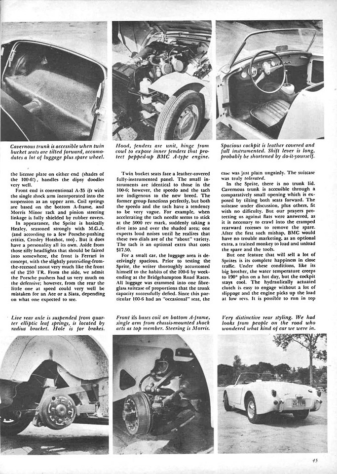 Sports Cars Illustrated USA 1958 August 3
