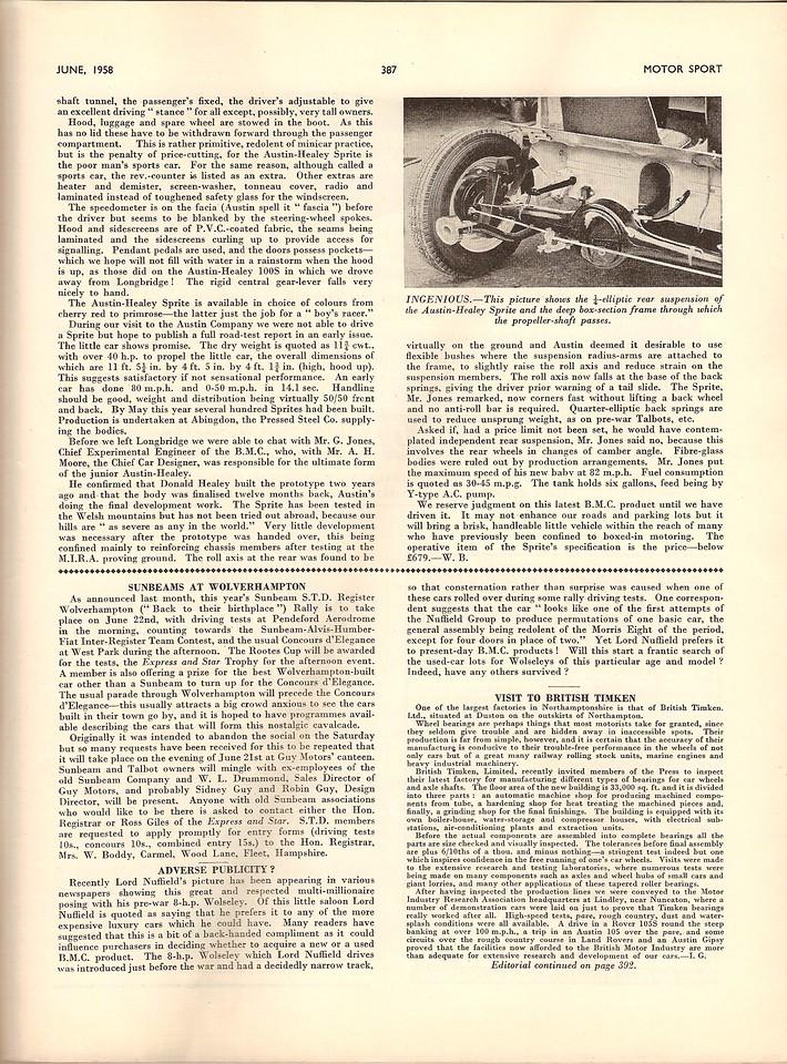 MotorSport 1958 July 4