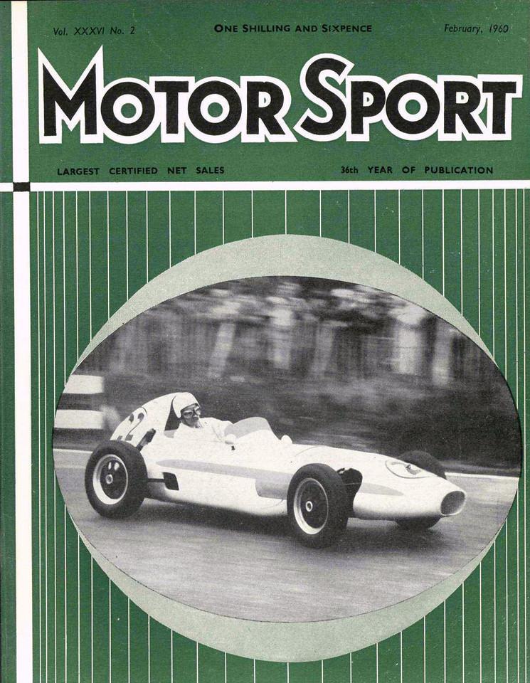 MotorSport 1960 Februaryl 1