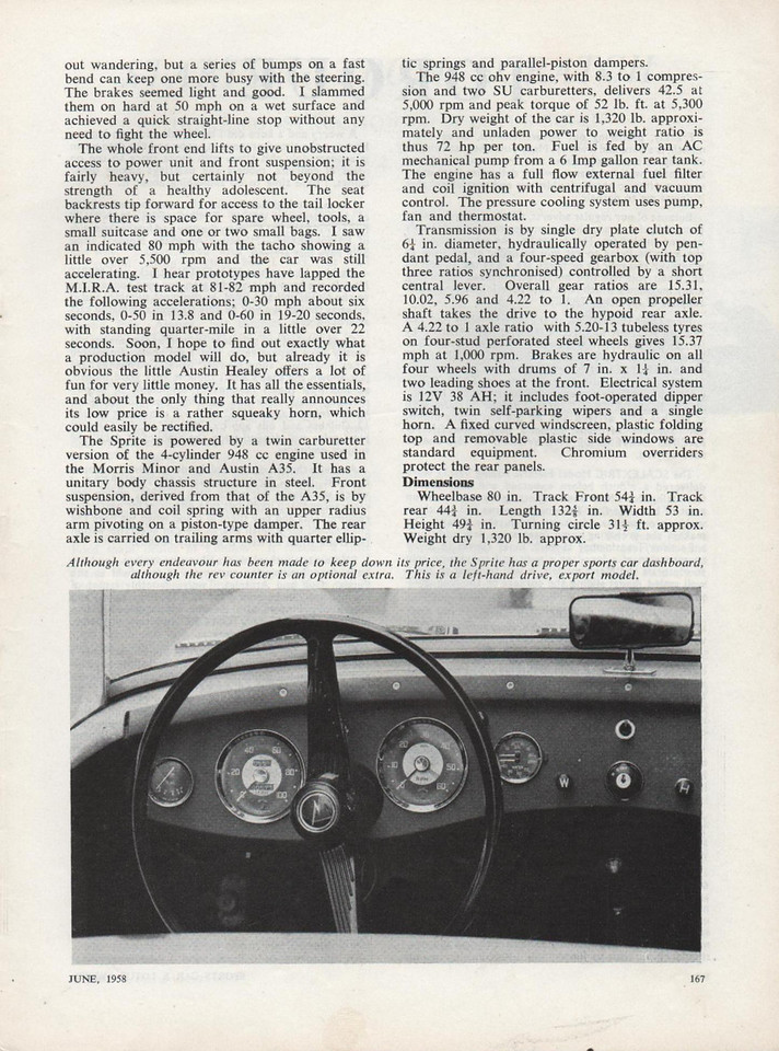 Sports Car and Lotus Owner 1958 June 2