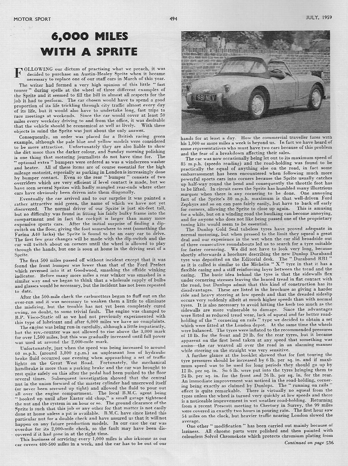 MotorSport 1959 July 2