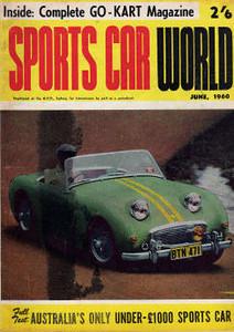 Sports Car World (Australia) 1960 June 1