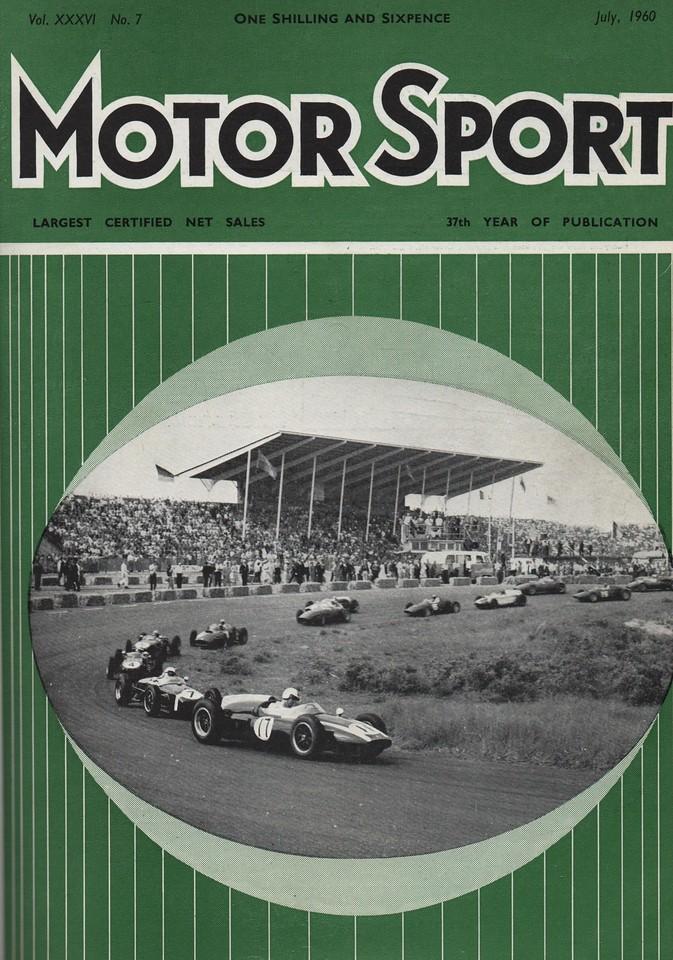 MotorSport 1960 July