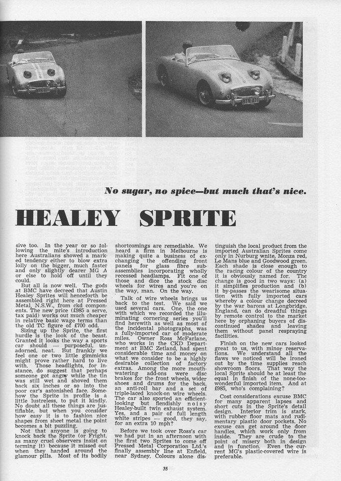 Sports Car World (Australia) 1960 June 3