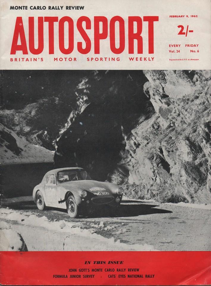 Autosport 1962 February 9 1
