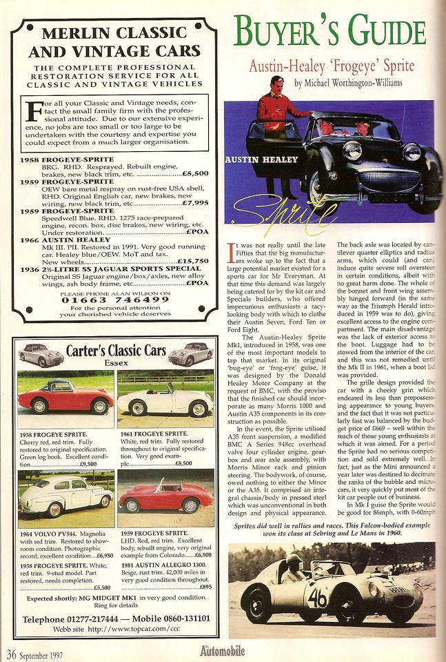 The Automobile September 1997 1