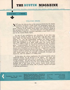 Austin Magazine and Advocate 1958 Vol.31 June 3