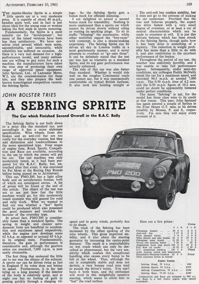 Autosport 1961 February 10th 2