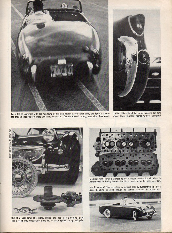 Sports Cars Illustarted's Car and Driver USA 1961 April 7