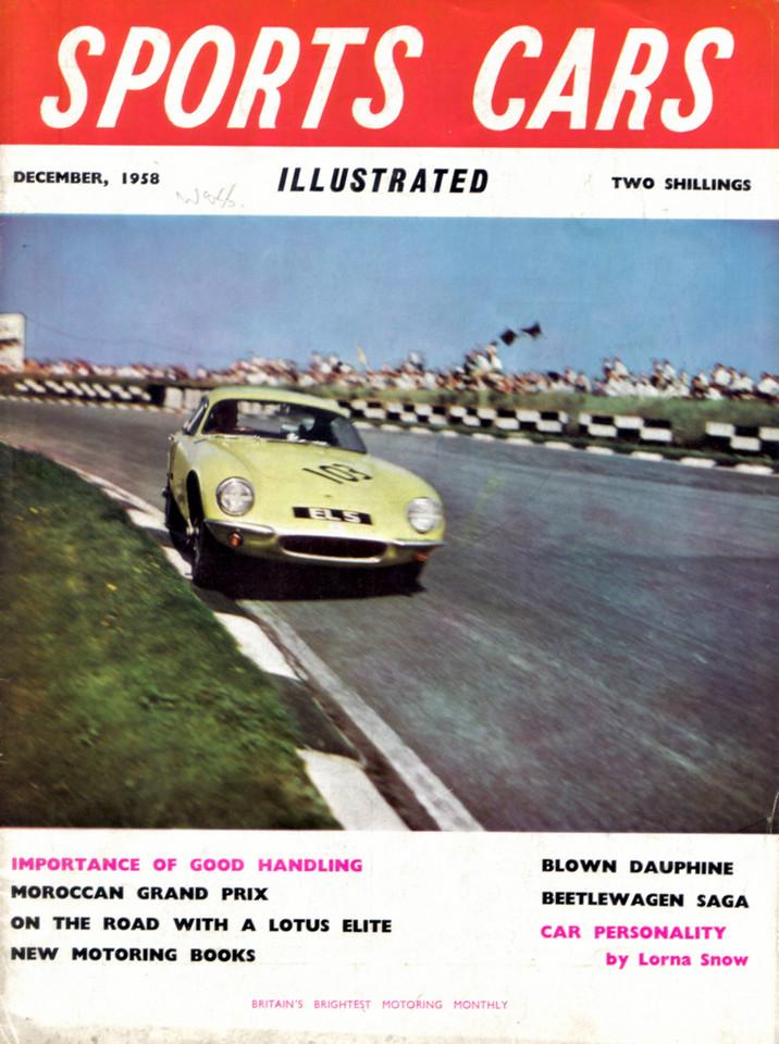 Sports Cars Illustrated UK 1958 December 1