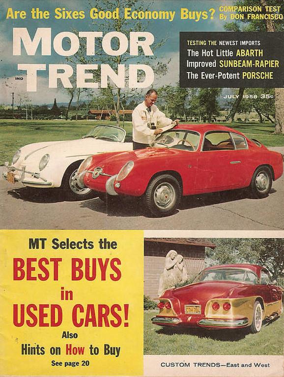 Motor Trend 1958