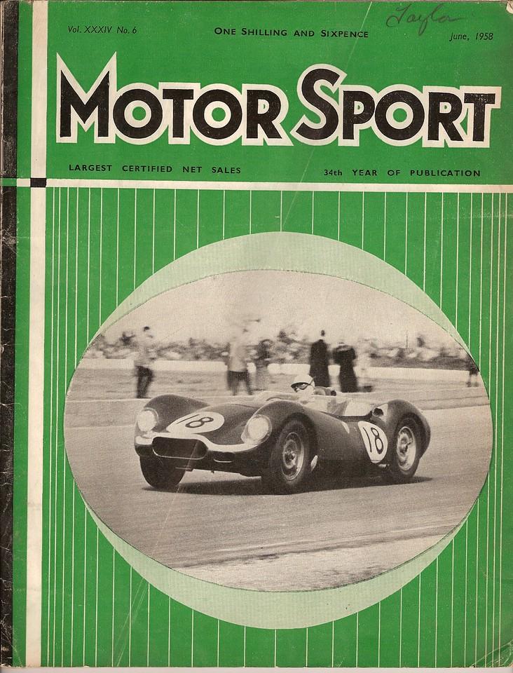 MotorSport 1958 July 1