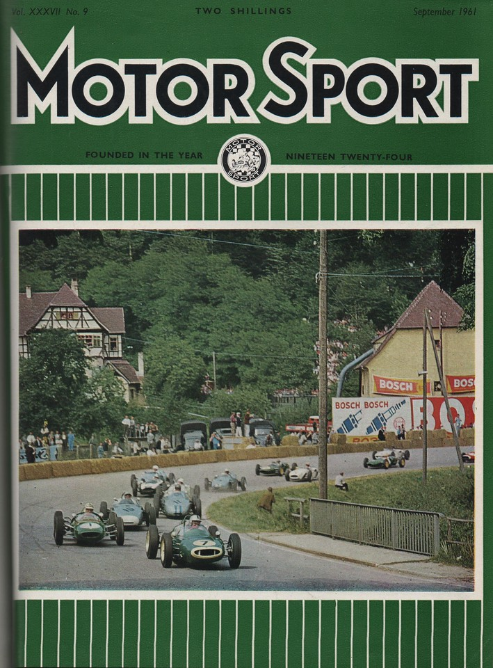 MotorSport 1961 September