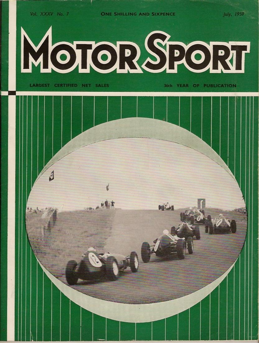 MotorSport 1959 July 1