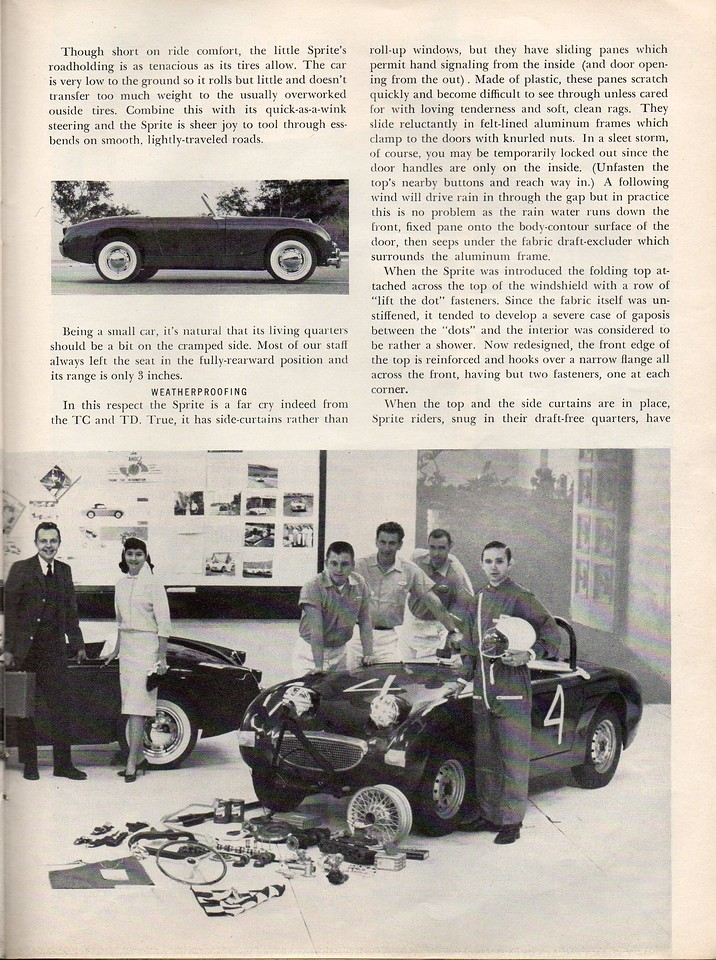 Sports Cars Illustarted's Car and Driver USA 1961 April 5