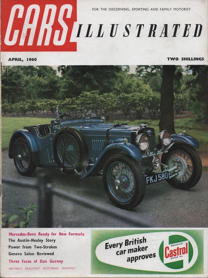 Cars Illustrated 1960 April UK