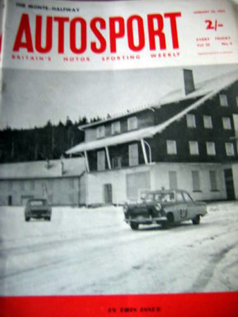 Autosport 1962 Jan 26th  1