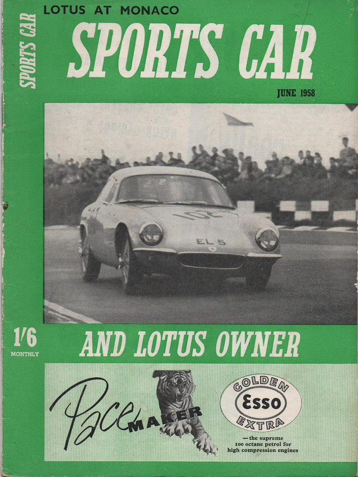 Sports Car and Lotus Owner 1958 June