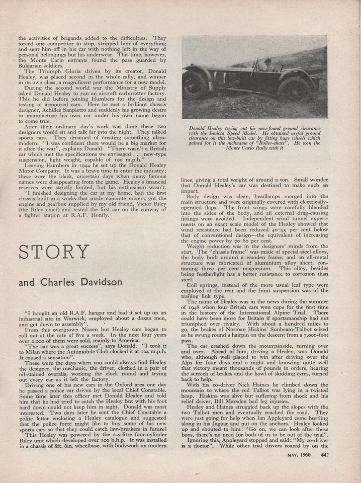 Cars Illustrated 1960 May 2