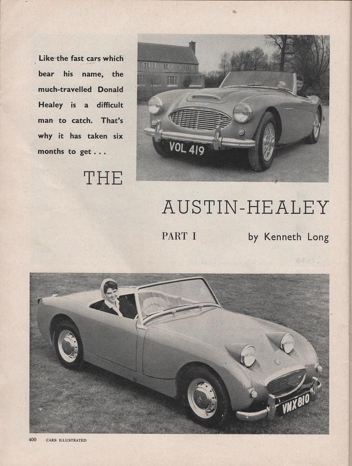 Cars Illustrated 1960 April UK 1