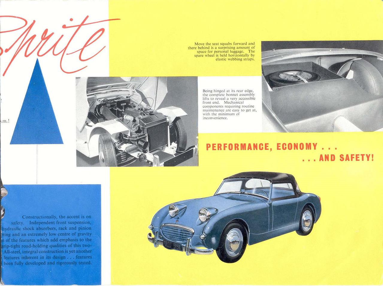 BMC Sprite brochure 3