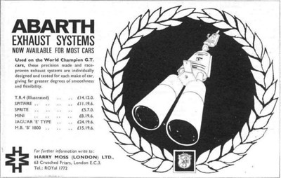 Abarth Exhausts Harry Moss