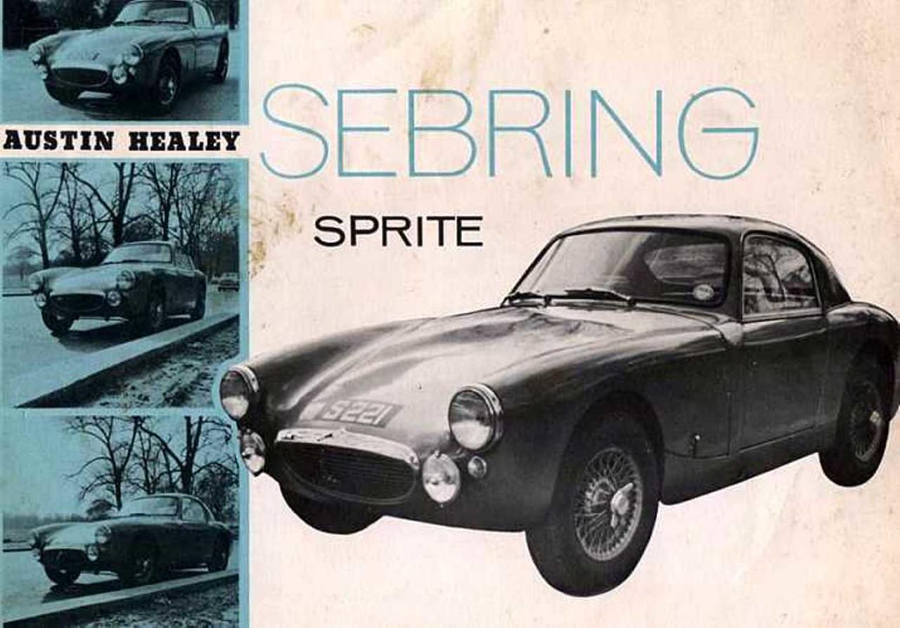 Sebring Sprite Catalogue 1