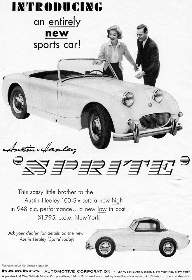 Hambro Bugeye Sprite ad 1958 august