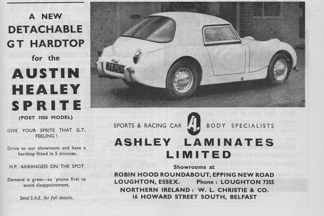 Ashley Motorsport February 1960