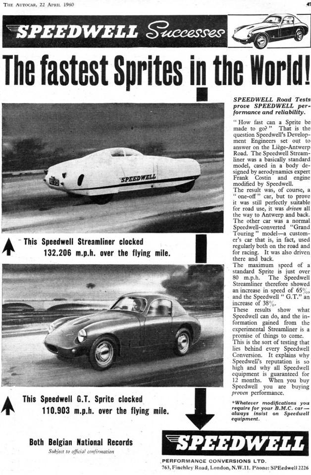 Speedwell 1960 April Motorsports