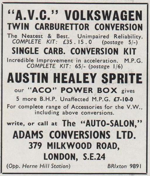 Adams Conversions Ltd