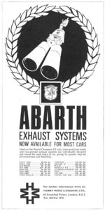 Abarth Exhaust Harry Moss London