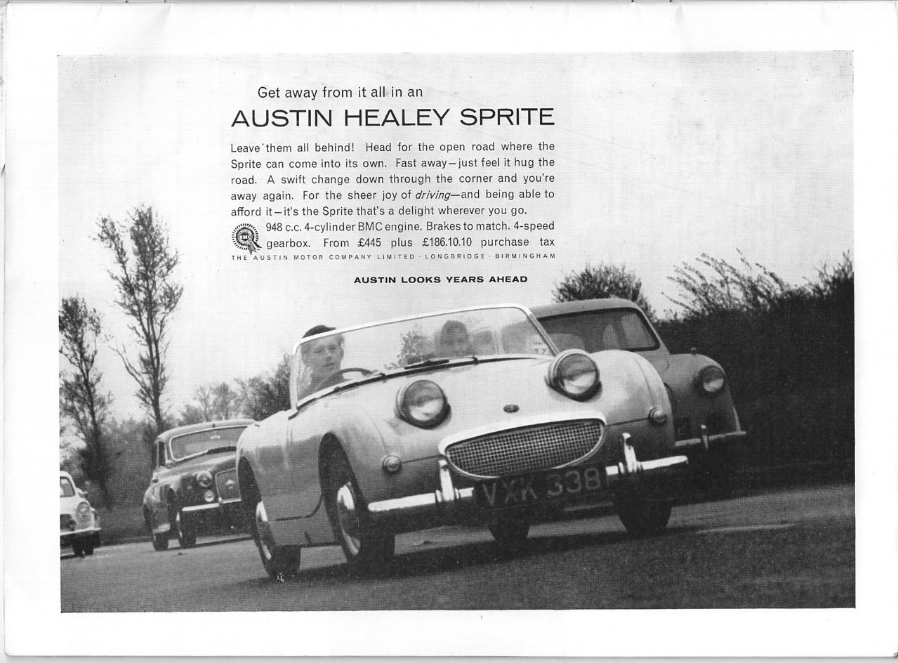BMC Get Away <br /> Sporting Motorist June 1959