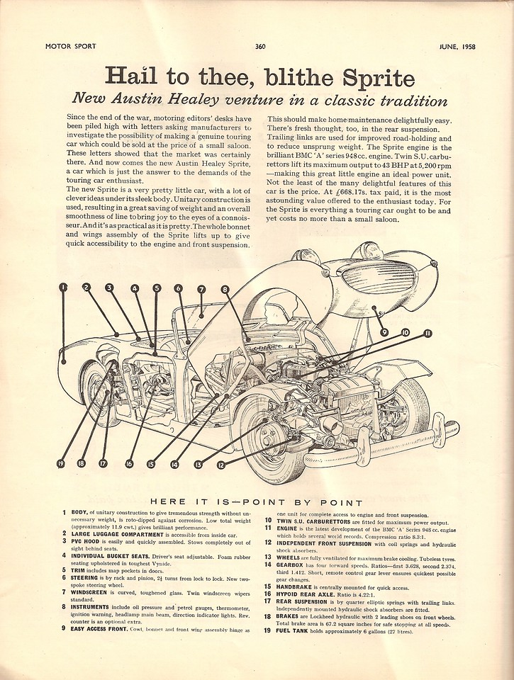 BMC Enter Motor Sport July 1958 2
