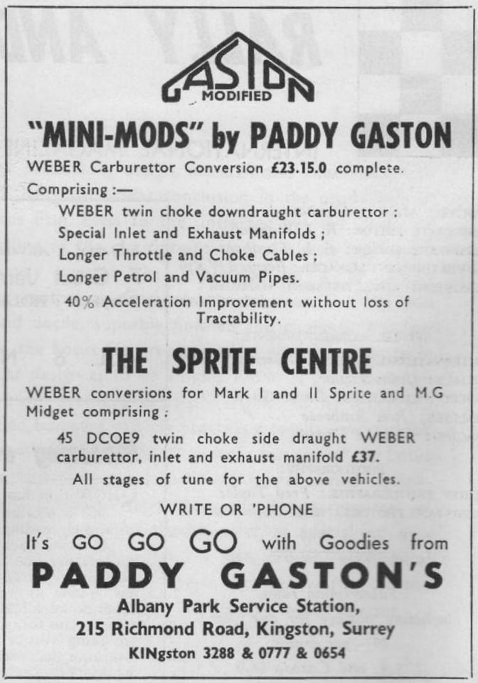 Paddy Gaston Sprite Center 1